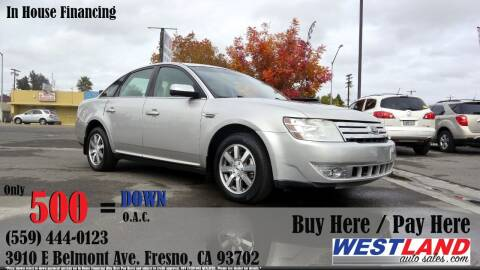 2008 Ford Taurus for sale at Westland Auto Sales in Fresno CA