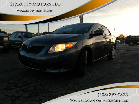 2010 Toyota Corolla for sale at StarCity Motors LLC in Garden City ID
