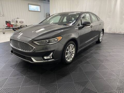 2019 Ford Fusion Energi for sale at Monster Motors in Michigan Center MI