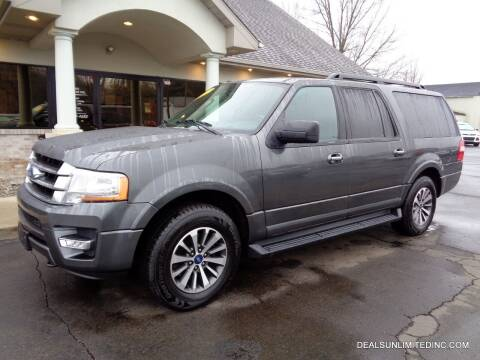 2016 Ford Expedition EL for sale at DEALS UNLIMITED INC in Portage MI