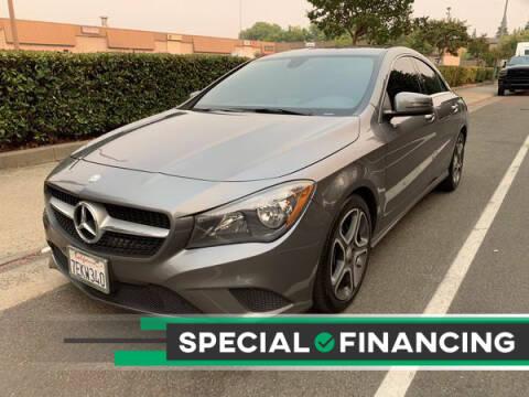2014 Mercedes-Benz CLA for sale at LG Auto Sales in Rancho Cordova CA