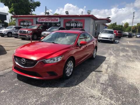 2014 Mazda MAZDA6 for sale at CARSTRADA in Hollywood FL