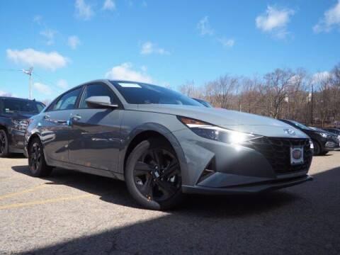 2021 Hyundai Elantra Hybrid for sale at Mirak Hyundai in Arlington MA