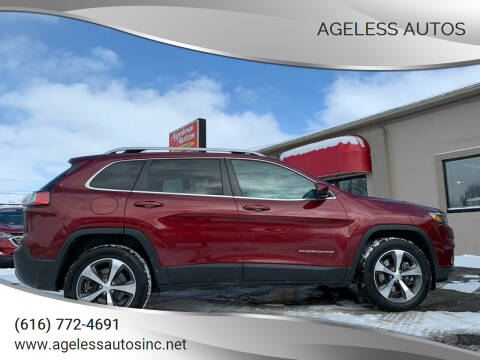 2019 Jeep Cherokee for sale at Ageless Autos in Zeeland MI