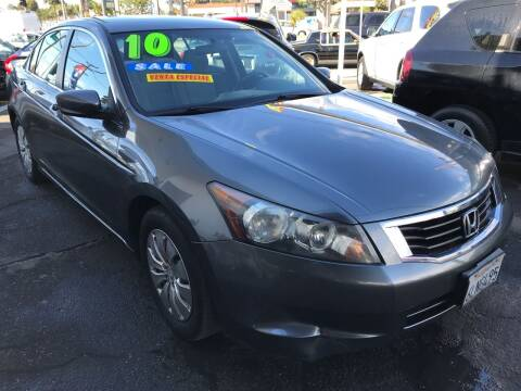 2010 Honda Accord for sale at CAR GENERATION CENTER, INC. in Los Angeles CA