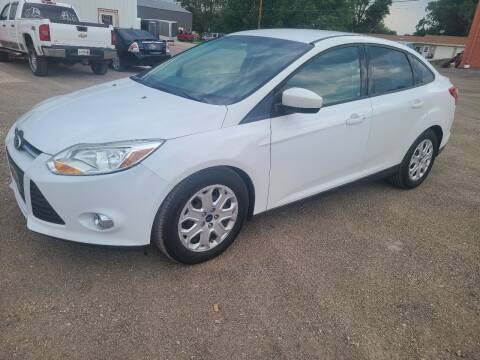 2012 Ford Focus for sale at BROTHERS AUTO SALES in Eagle Grove IA