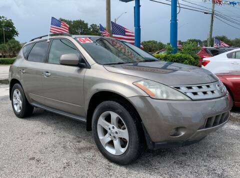 2004 Nissan Murano for sale at AUTO PROVIDER in Fort Lauderdale FL