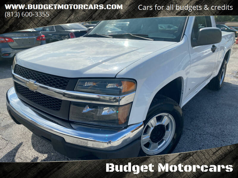 2006 Chevrolet Colorado for sale at Budget Motorcars in Tampa FL
