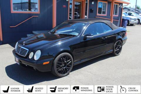 2002 Mercedes-Benz CLK for sale at Sabeti Motors in Tacoma WA