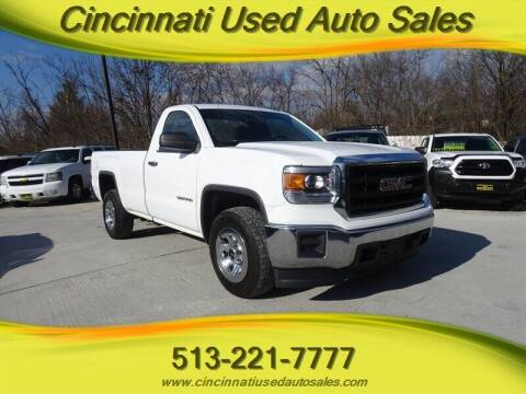 2014 GMC Sierra 1500 for sale at Cincinnati Used Auto Sales in Cincinnati OH