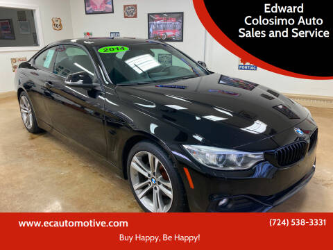 2014 BMW 4 Series for sale at Edward Colosimo Auto Sales and Service in Evans City PA