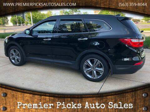 2016 Hyundai Santa Fe for sale at Premier Picks Auto Sales in Bettendorf IA