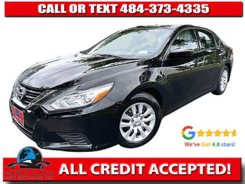 2018 Nissan Altima for sale at World Class Auto Exchange in Lansdowne PA