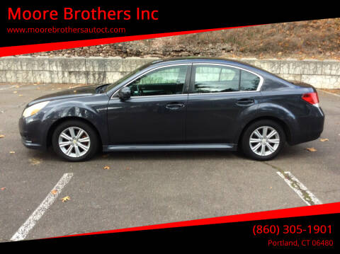 2011 Subaru Legacy for sale at Moore Brothers Inc in Portland CT