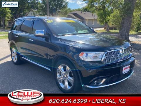 2015 Dodge Durango for sale at Lewis Chevrolet Buick of Liberal in Liberal KS