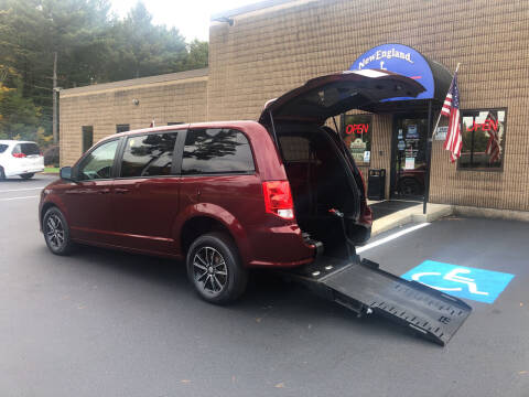 2018 Dodge Grand Caravan for sale at New England Motor Car Company in Hudson NH