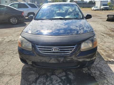 2009 Kia Spectra for sale at CALIBER AUTO SALES LLC in Cleveland OH