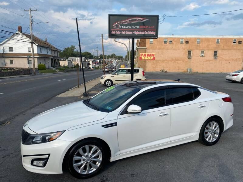 2014 Kia Optima for sale at Fineline Auto Group LLC in Harrisburg PA