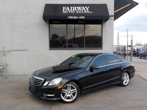 2013 Mercedes-Benz E-Class for sale at FAIRWAY AUTO SALES, INC. in Melrose Park IL