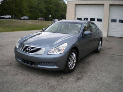 2007 Infiniti G35 for sale at Route 111 Auto Sales in Hampstead NH