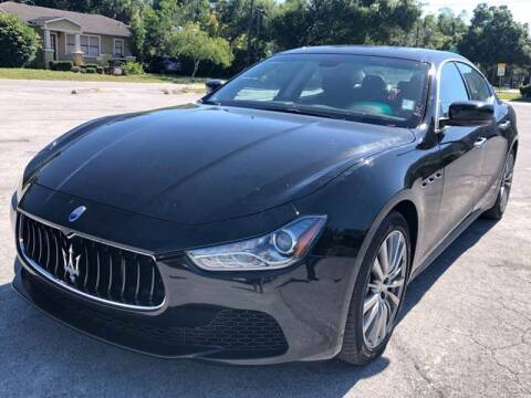2016 Maserati Ghibli for sale at Consumer Auto Credit in Tampa FL