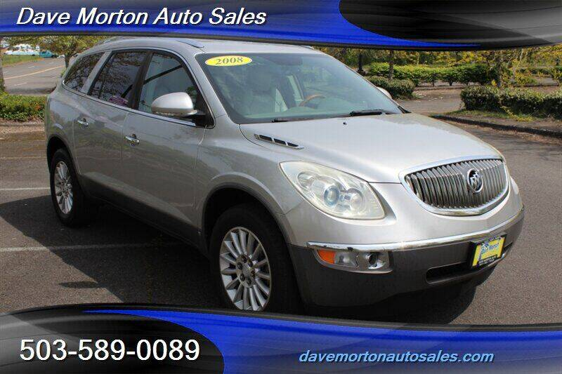 2008 Buick Enclave for sale at Dave Morton Auto Sales in Salem OR