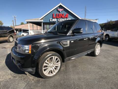 2010 Land Rover Range Rover Sport for sale at LUNA CAR CENTER in San Antonio TX