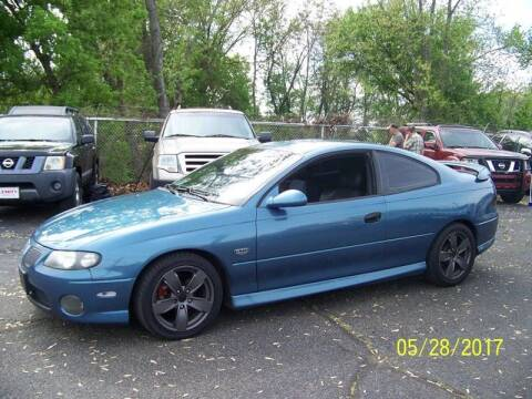 2004 Pontiac GTO for sale at Collector Car Co in Zanesville OH
