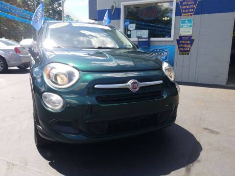 2016 FIAT 500X for sale at Fleetwing Auto Sales in Erie PA