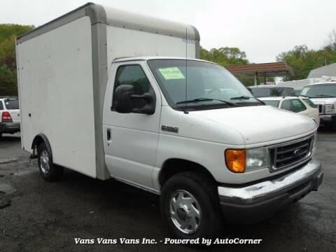 2007 Ford E-Series Chassis for sale at Vans Vans Vans INC in Blauvelt NY