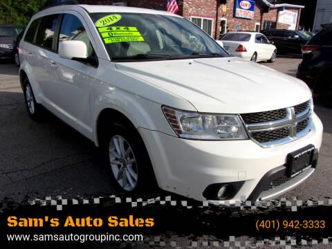 2014 Dodge Journey for sale at Sam's Auto Sales in Cranston RI