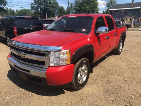 2009 Chevrolet Silverado 1500 for sale at Winner's Circle Auto Sales in Tilton NH