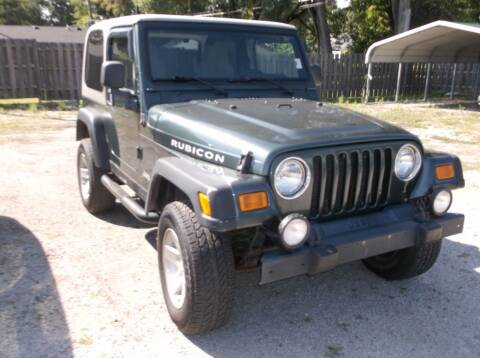 2003 Jeep Wrangler for sale at Straight Line Motors LLC in Fort Wayne IN