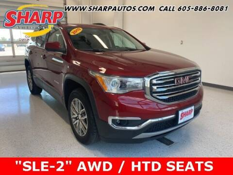 2019 GMC Acadia for sale at Sharp Automotive in Watertown SD