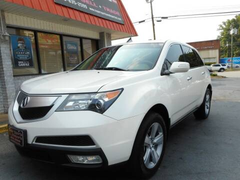 2012 Acura MDX for sale at Super Sports & Imports in Jonesville NC