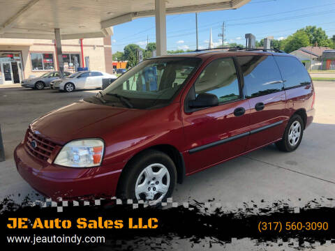 2004 Ford Freestar for sale at JE Auto Sales LLC in Indianapolis IN