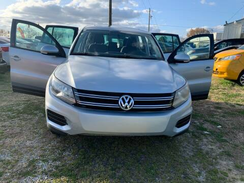 2012 Volkswagen Tiguan for sale at Samet Performance in Louisburg NC