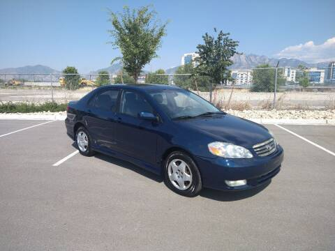 2004 Toyota Corolla for sale at ALL ACCESS AUTO in Murray UT