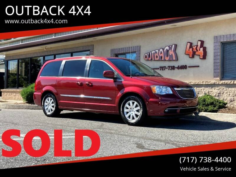2015 Chrysler Town and Country for sale at OUTBACK 4X4 in Ephrata PA
