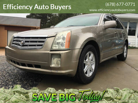2004 Cadillac SRX for sale at Efficiency Auto Buyers in Milton GA