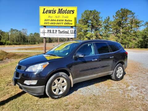 2011 Chevrolet Traverse for sale at Lewis Motors LLC in Deridder LA