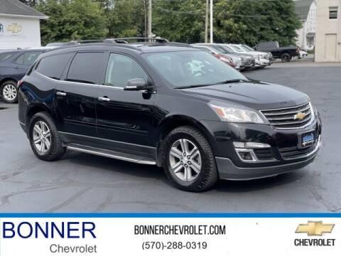 2017 Chevrolet Traverse for sale at Bonner Chevrolet in Kingston PA