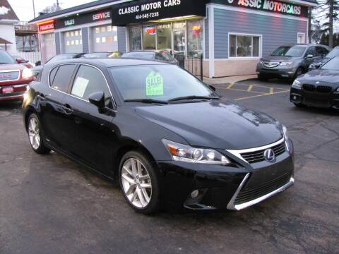 2016 Lexus CT 200h for sale at CLASSIC MOTOR CARS in West Allis WI
