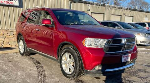 2013 Dodge Durango for sale at QS Auto Sales in Sioux Falls SD