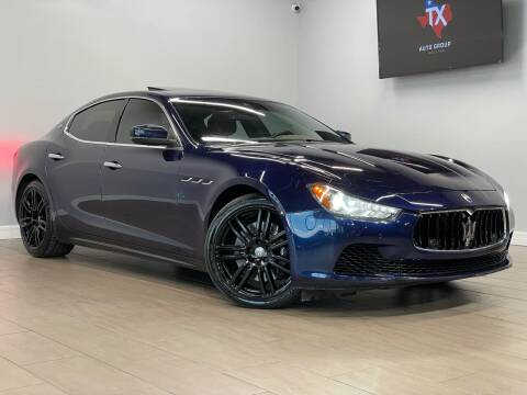 2017 Maserati Ghibli for sale at TX Auto Group in Houston TX