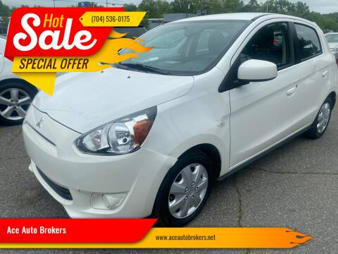 2015 Mitsubishi Mirage for sale at Ace Auto Brokers in Charlotte NC