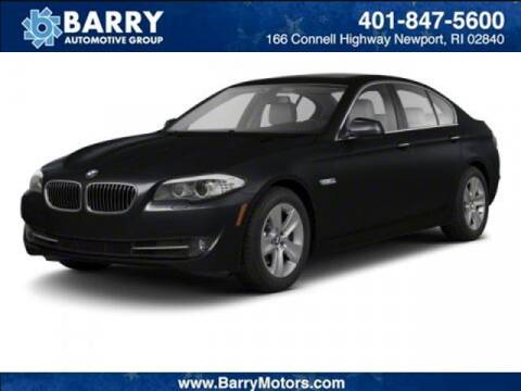 2013 BMW 5 Series for sale at BARRYS Auto Group Inc in Newport RI