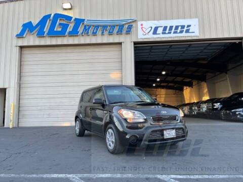 2013 Kia Soul for sale at MGI Motors in Sacramento CA