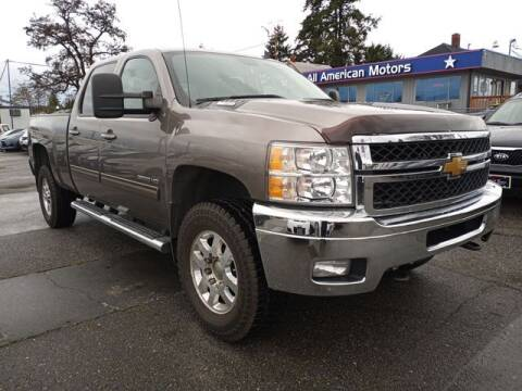 2012 Chevrolet Silverado 3500HD for sale at All American Motors in Tacoma WA