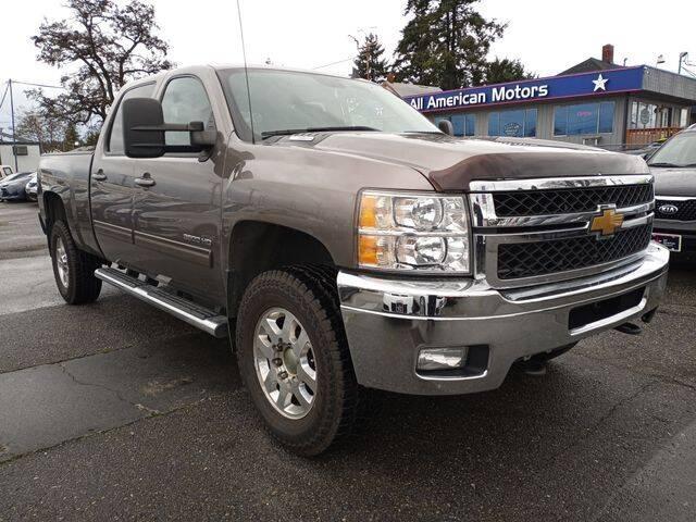 2012 Chevrolet Silverado 3500HD for sale at All American Motors in Tacoma WA